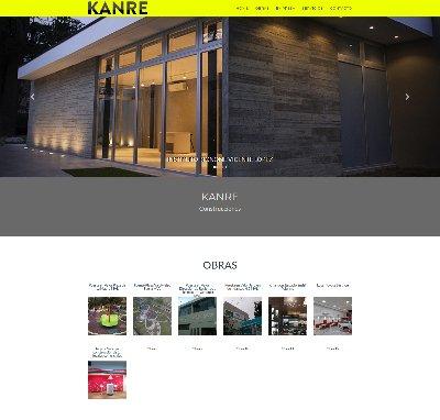Sitio web www.kanre.com.ar
