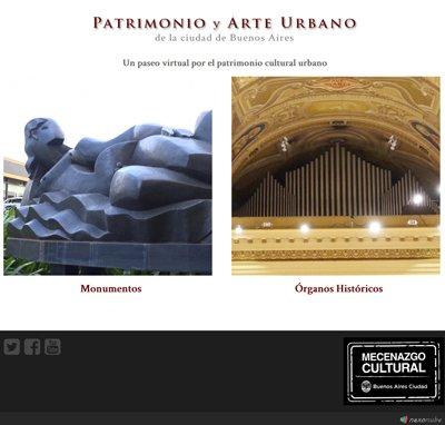Sitio web www.patrimonio.com.ar