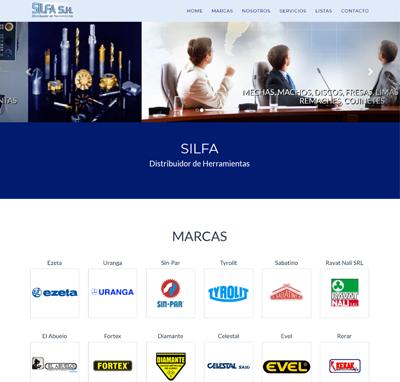 Sitio web www.silfa.com.ar