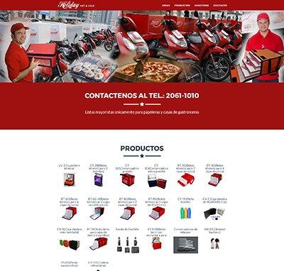 Sitio web www.sitioholiday.com