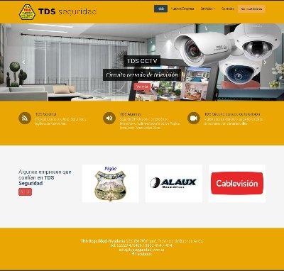 Sitio web www.tdsseguridad.com.ar