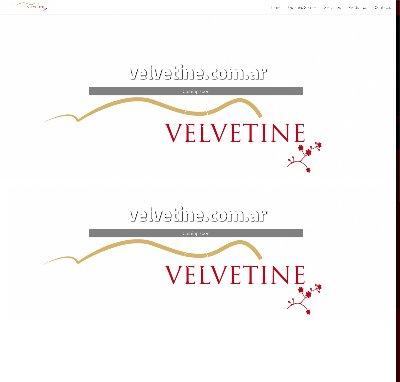Sitio web www.velvetine.com.ar